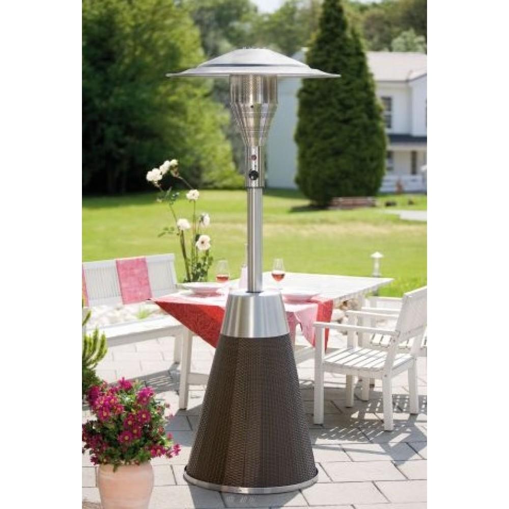 parasol chauffant gaz cosy rotin favex bricozor. Black Bedroom Furniture Sets. Home Design Ideas