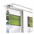 Aérateur à clapet pour vitrage de 24 mm - rupture pont thermique - THM90 RENSON