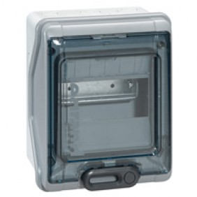 Coffret électrique étanche - 1x6 modules - 1 rangée - Plexo 3 LEGRAND
