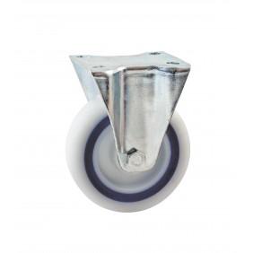 Roulette pivotante à frein sur platine Saturne AVL