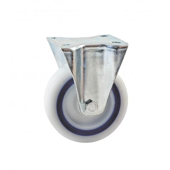 Roulette à bandage synthétique sur platine fixe AVL