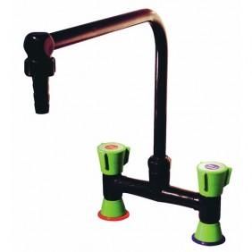 Mélangeur de laboratoire à bec orientable - pose sur table SANILAB
