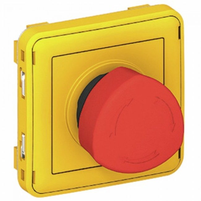 Coupure d'urgence composable - 3 ampères - Plexo LEGRAND