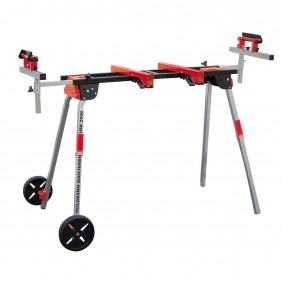 Etabli portatif - 1120 à 2935 mm - support scie à onglet - avec roues HOLZMANN