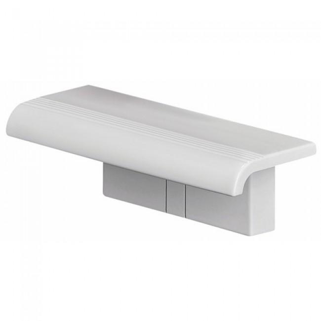 Tablette de douche blanche -  à fixer - Arsis PELLET ASC