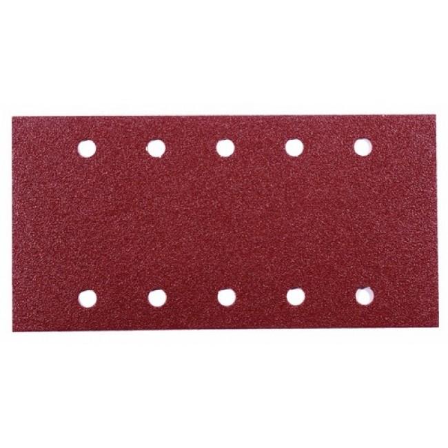 Abrasifs rectangulaire corindon perforés 10 trous KP 508/510E VSM
