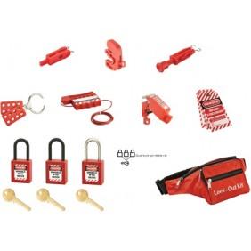 Kit de consignation - maintenance électrique - sécurité des personnes THIRARD