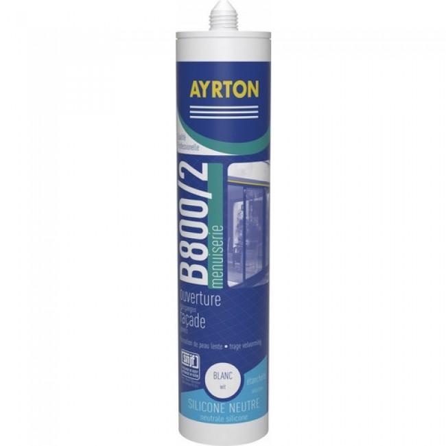 Mastic silicone - construction et miroiterie - B800/2 AYRTON