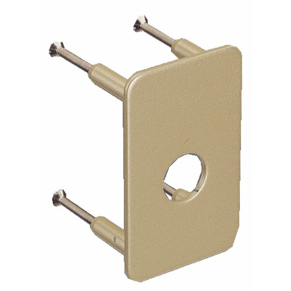 contre plaque de s curit pour verrou v136 744v vachette bricozor. Black Bedroom Furniture Sets. Home Design Ideas