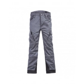 Pantalon multipoches gris/noir - Antras North Ways