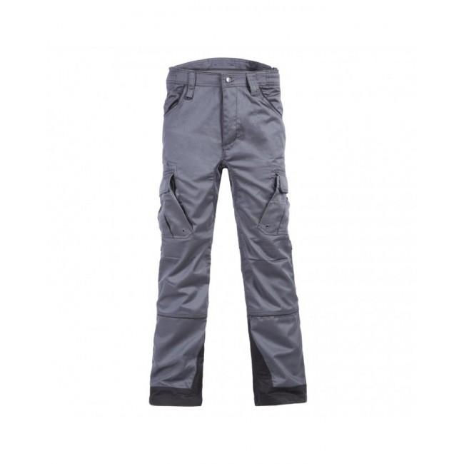 Pantalon multipoches gris/noir - Antras North Work