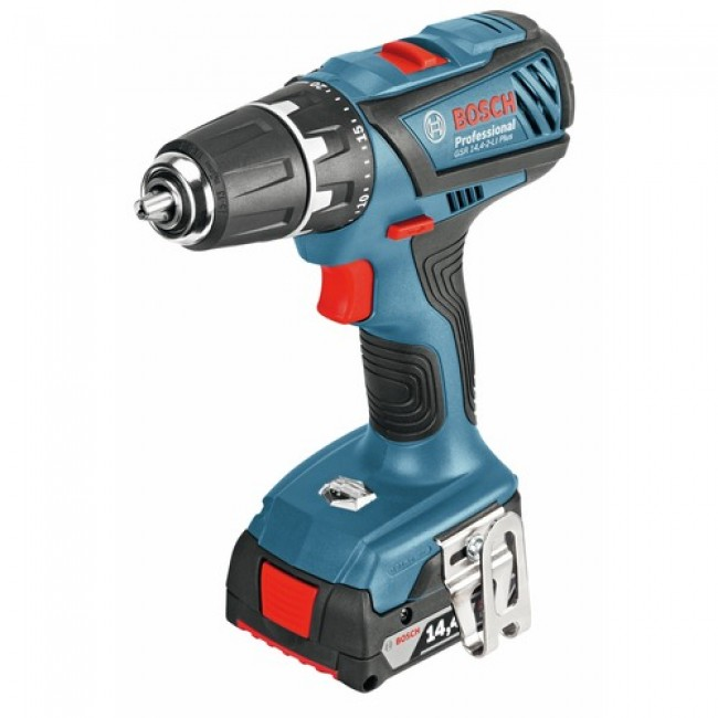 Perceuse visseuse sans fil 14,4 V GSR 14,4 2LI Plus Professional BOSCH