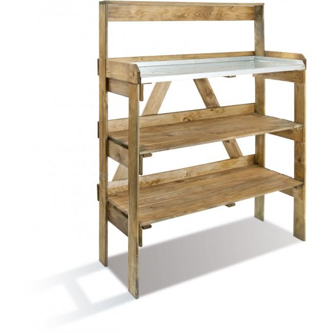 Table de préparation pour le jardinage - longueur 125 cm - Evolution JARDIPOLYS
