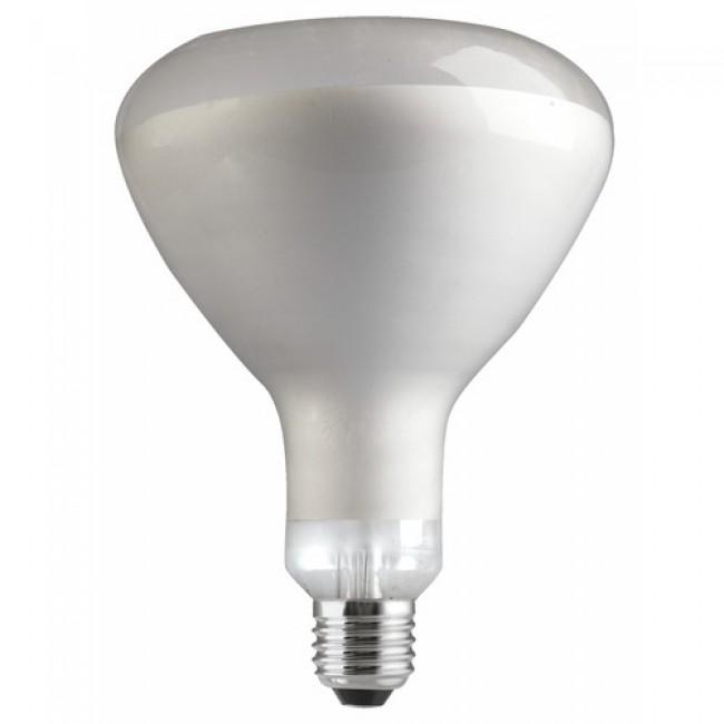 Ampoule infra-rouge à réflecteur - verre clair