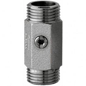 Robinet d'arrêt droit Mâle - 15 x 21 mm - avec filtre plat PRESTO