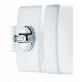 Verrou de sûreté V83 design à bouton - Blanc ABUS