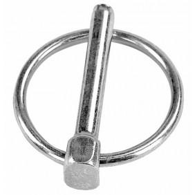 Goupilles clips - acier zingué blanc BRICOZOR