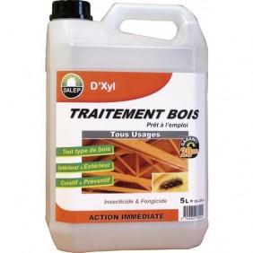 Traitement insecticide et fongicide pour bois - 5 litres - D'Xyl DALEP