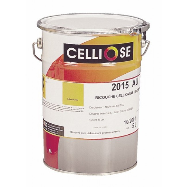 Vernis de finition bi-couche Celliomine 2015 AU CELLIOSE