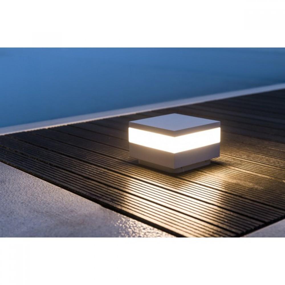 Borne clairage ext rieur led upper oggi luce bricozor for Borne eclairage exterieur