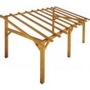 Carport en bois - longueur 500 cm - Sherwood JARDIPOLYS