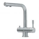 Mitigeur Atlas à eau filtrée - design - tout inox FRANKE