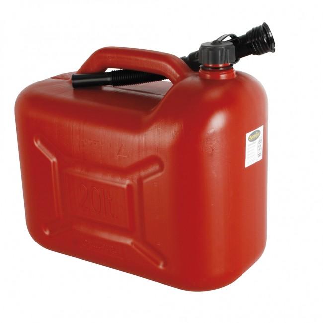Jerrican plastique - essence - 20 litres OROK