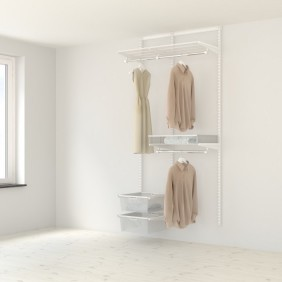 Kit dressing Classique - L95xP40 cm - blanc ELFA