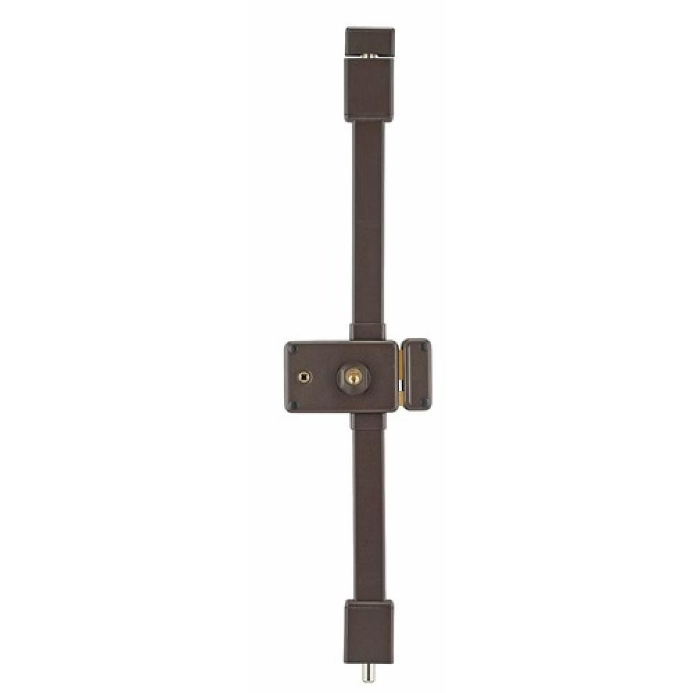 serrure 3 points en applique carr 6 mm cylindre rond. Black Bedroom Furniture Sets. Home Design Ideas
