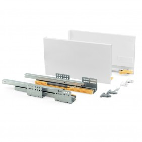 Kit tiroir Concept-hauteur 185 mm-blanc EMUCA