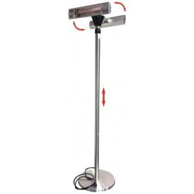 Radiateur d'atelier électrique - 3000 w - infrarouge REH 3000 TCL.1 S.PLUS