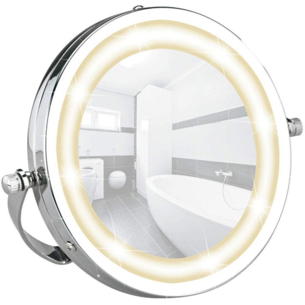 Miroir Grossissant X3 Pour Salle De Bain Brolo Lumière