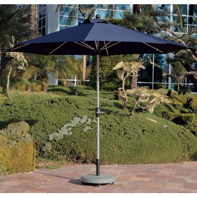 Parasol dépliable Casini 300-diamètre 300 cm