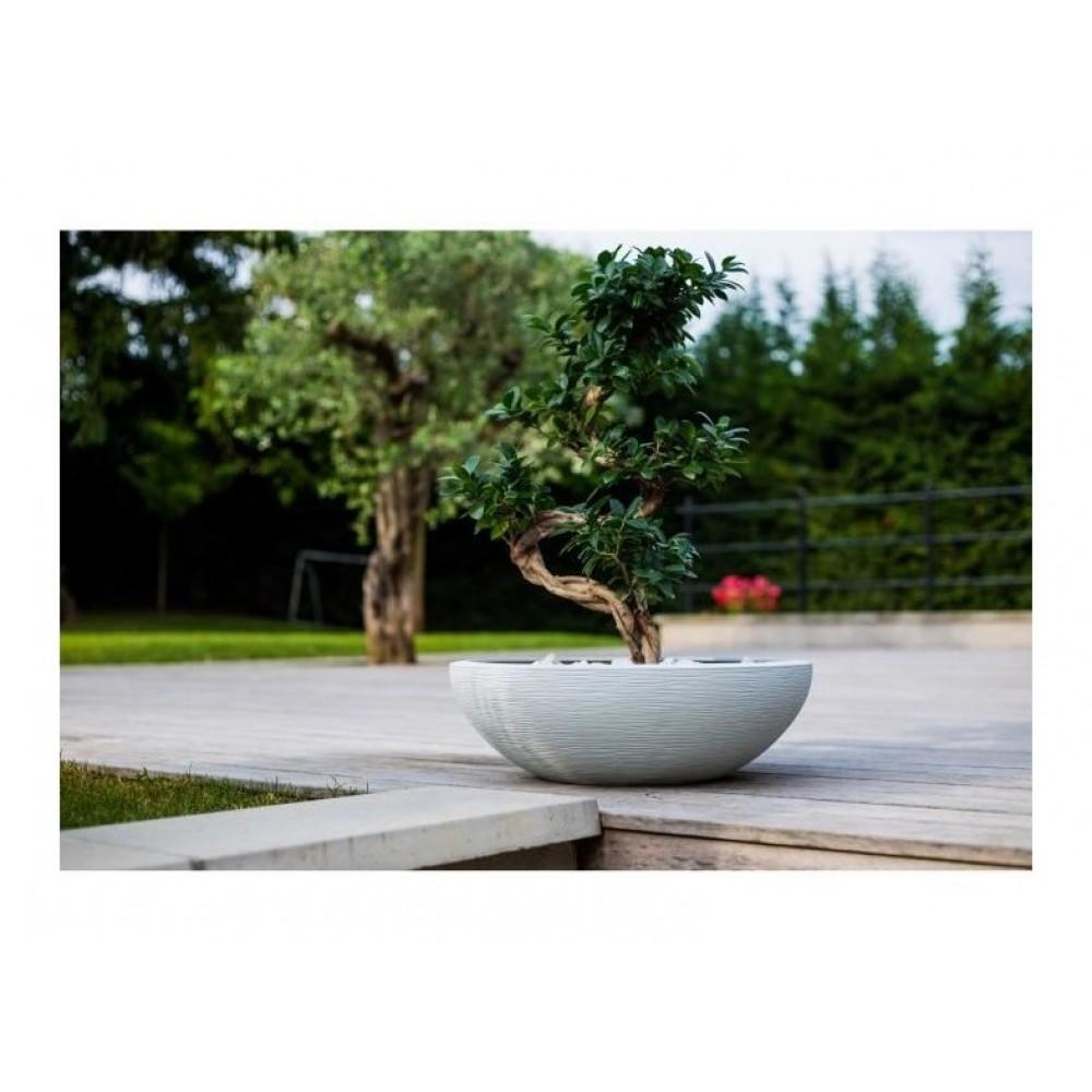Vasque - diamètre 59 cm - contenance 39 litres - Graphit blanc ...