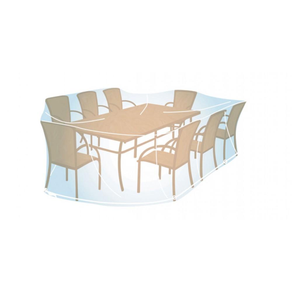 Housse pour ensemble de jardin rectangulaire ou ovale - 100x270x220 cm  CAMPINGAZ sur Bricozor