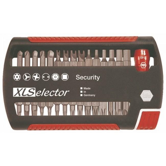 Coffret 30 embouts de vissage sécurité / antivol XL Selector 541534 WIHA