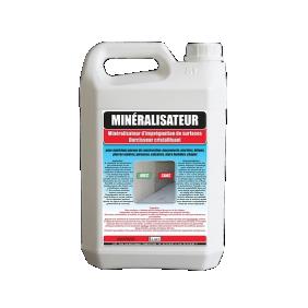 Minéralisateur - durcisseur cristallisant - 5 Litres ASSISTANCE CHIMIQUE