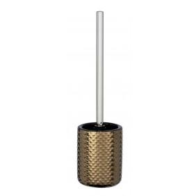 Brosse WC à poser - Keo copper - Céramique aspect cuivre WENKO