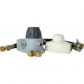 Détendeur gaz butane à sécurité - kit complet - Bukit SCT CLESSE