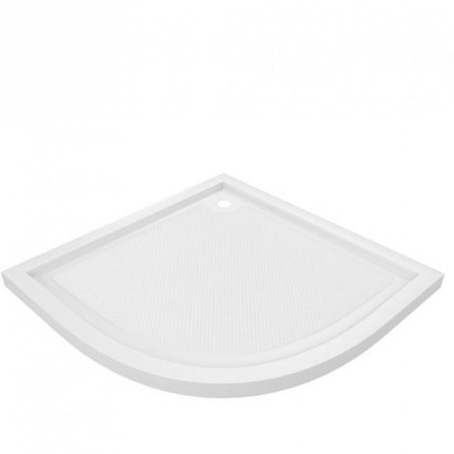 Receveur à poser - Pure - Acrylique blanc  - 1/4 de cercle 90x90cm AURLANE
