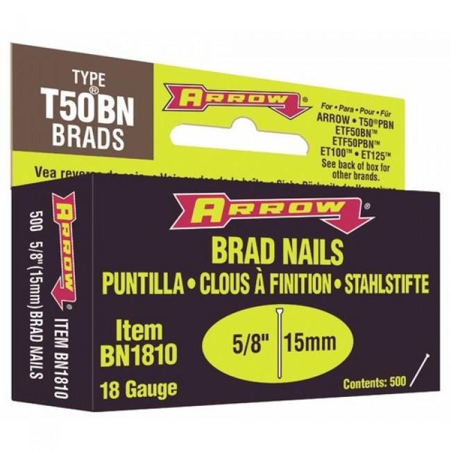 Clous BN 1810 pour agrafeuses cloueuses ARROW