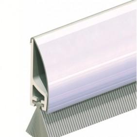 Plinthe en applique de bas de porte - support PVC/inox - PDS ELLEN
