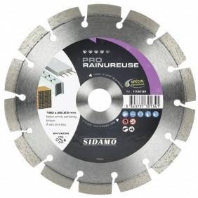 Disque diamant - matériaux construction - Pro Rainureuse SIDAMO