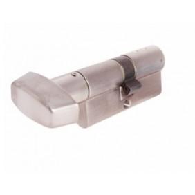 Cylindre double à bouton - 30 x B30 - laiton nickelé - TX80 VD TESA Sécurité