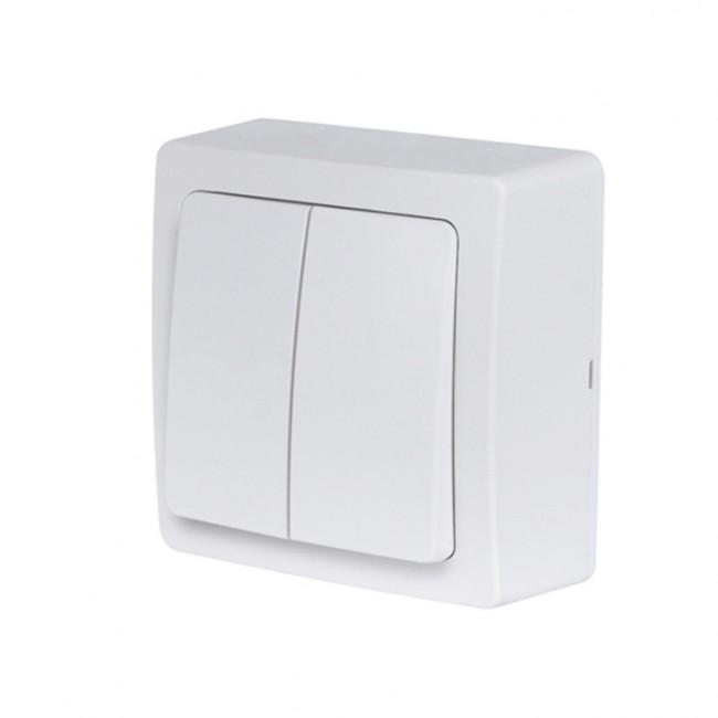 Double Va-et-vient saillie complet - blanc - Blok DEBFLEX