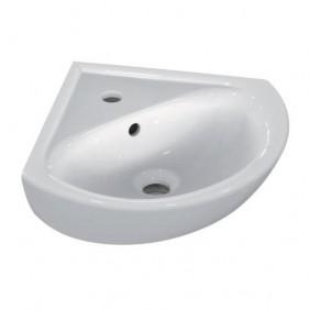 Lave-mains - pose en angle - trop plein - Ulysse - 34x34x44 cm PORCHER