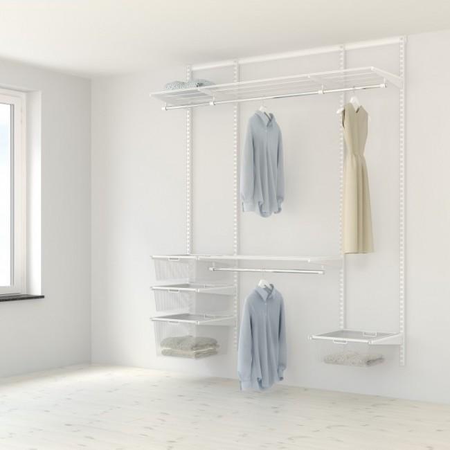 Kit dressing Classique - L180xP40 cm - blanc ELFA