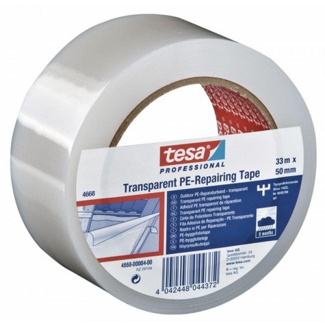 Ruban de réparation des plastiques et verres : adhésif  4668 TESA