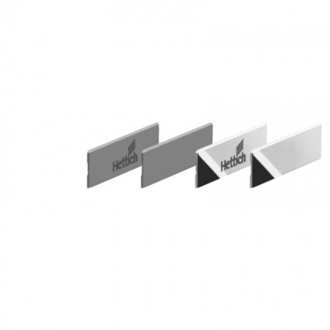 Caches pour profil Innotech Atira - avec logo Hettich - x300 HETTICH