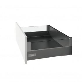 Kit tiroir DesignSide verre InnoTech Atira - H144 mm - sans coulisse HETTICH